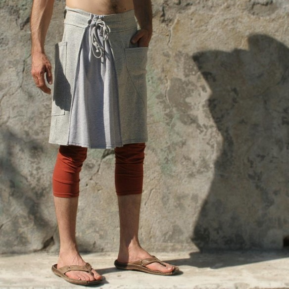 cocooning and sporty maleskirt