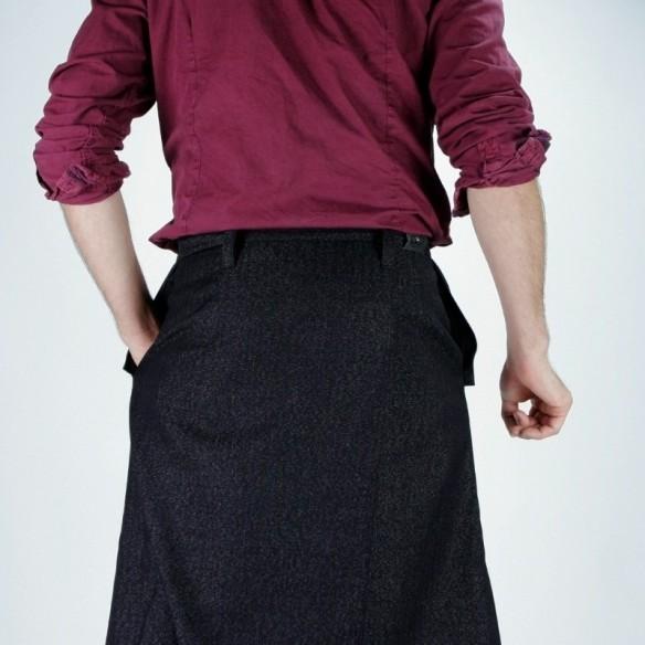Umebosi jupe masculine longue