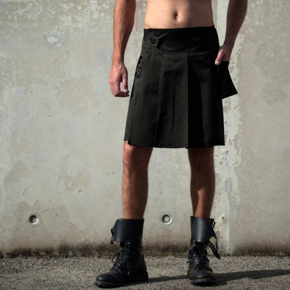 french KILT noir