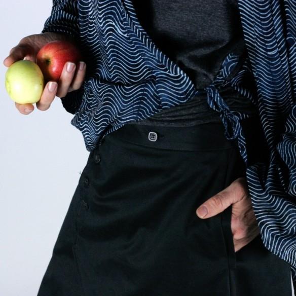 Umebosi jupe longue coton