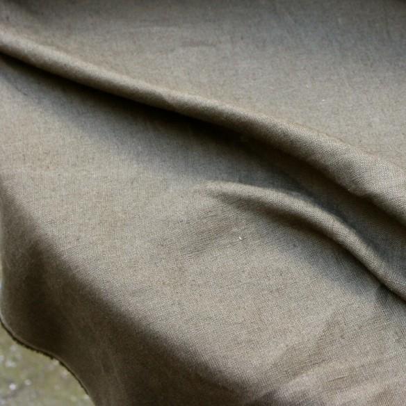 kaki european linen