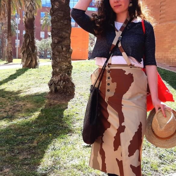 Umebosi camouflage et bretelles