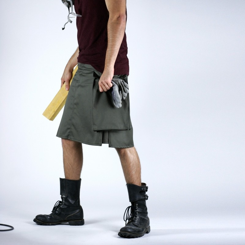 Asymetrical Neo Kilt BUCKINGHAM