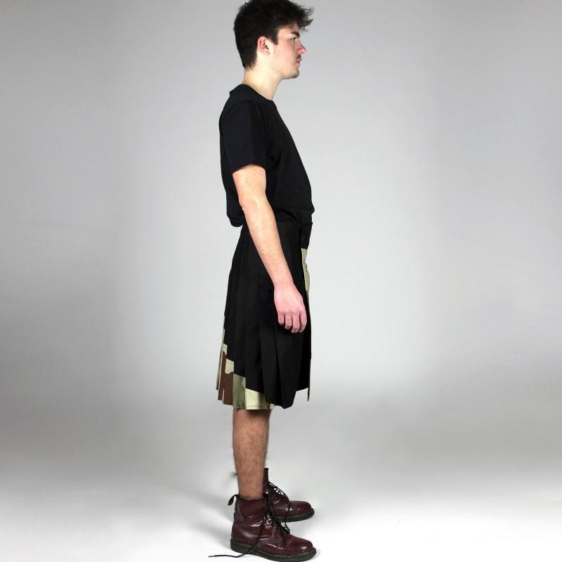 jupe mi-longue asymétrique PREENCE
