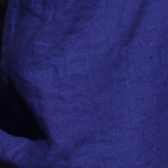 indigo blue linen