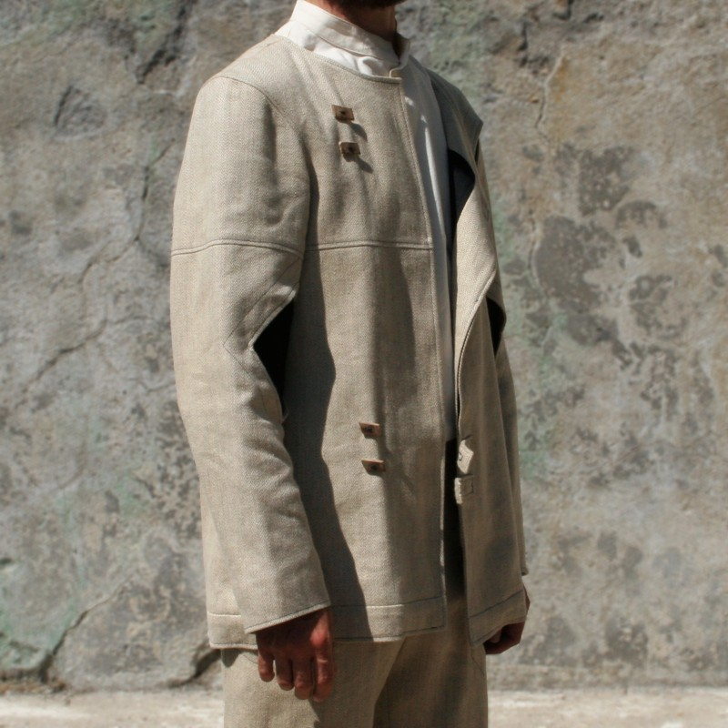 Tailor jacket made of Yack wool s L