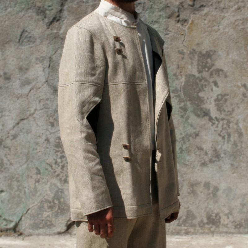 Veste tailleur laine yack bio L