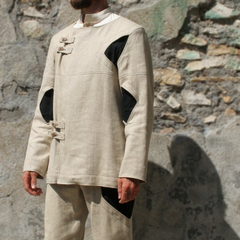 JOGH jupe pour homme maille grise