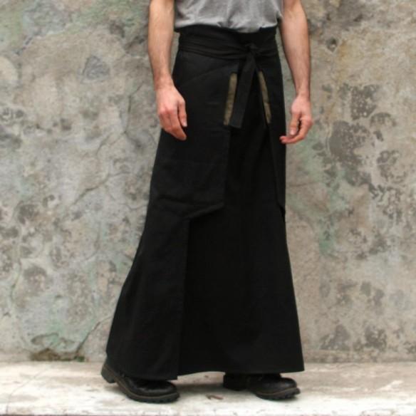 jupe longue NINJA noire
