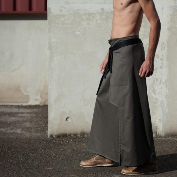 jupe longue NINJA kaki
