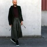 Transformable jacket Un-Bin