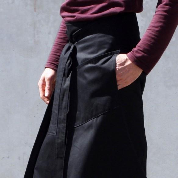 hakama Yamabushi noir