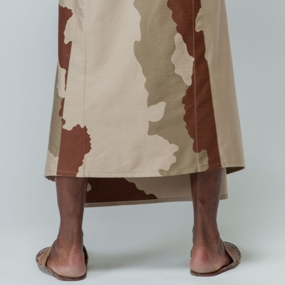 hakama Yamabushi camouflage