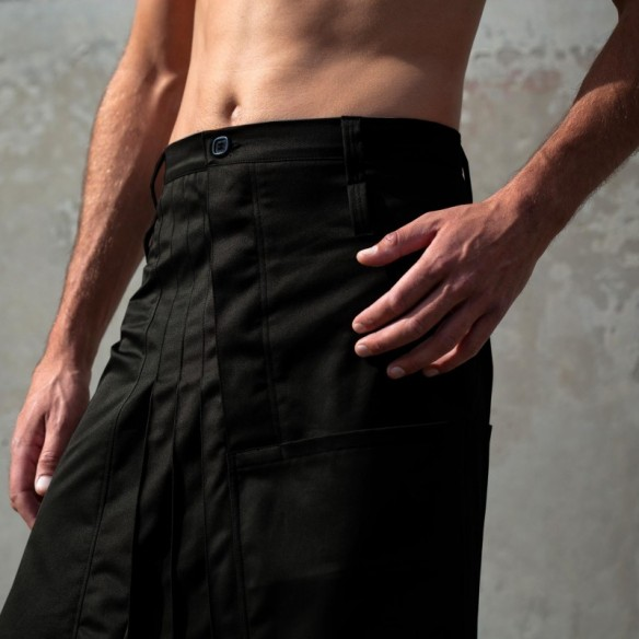 jupe pour homme COW-BOY noire