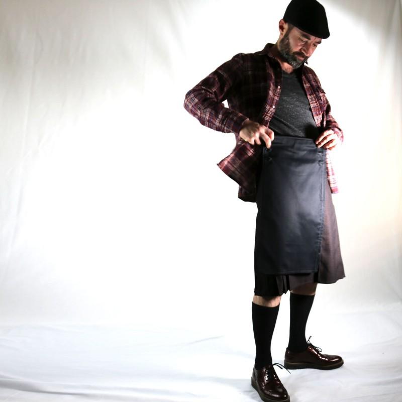 tshirt tunique PEDRO bordeau