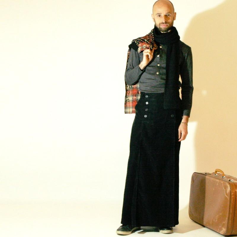 VELVET jupe noire