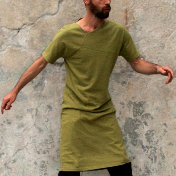 RETORS tshirt extra-long vert