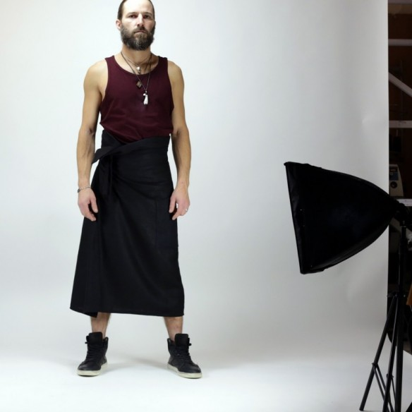male skirt easy to wear