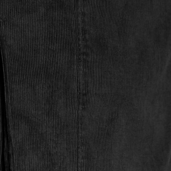 Veste à col mao velours